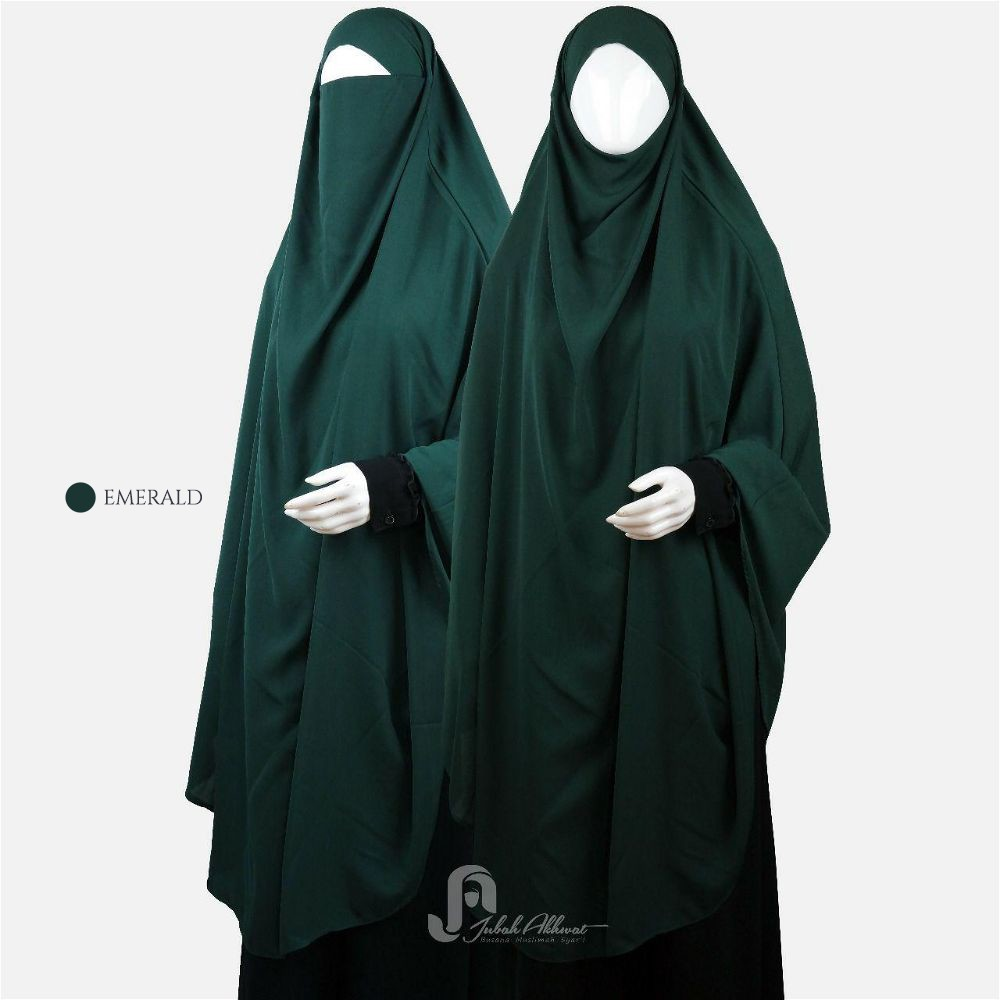 French khimar emerald