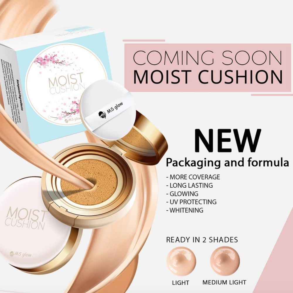 MS Glow - Moist Cushion (New Packaging & Formula)