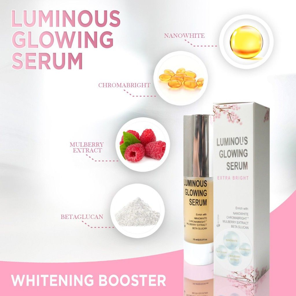 Manfaat Serum Luminous MS Glow