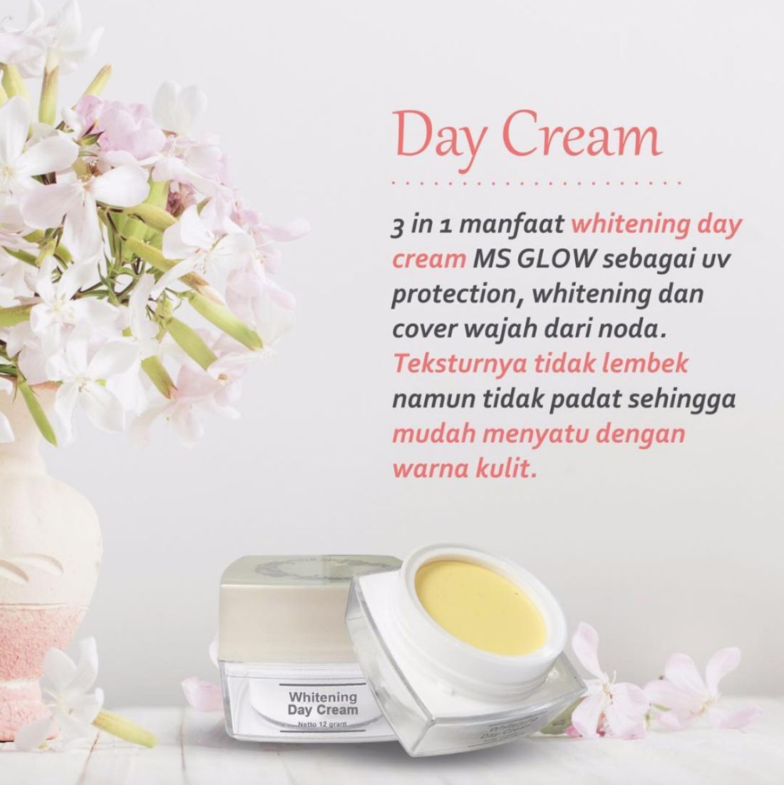 Day Cream MS Glow