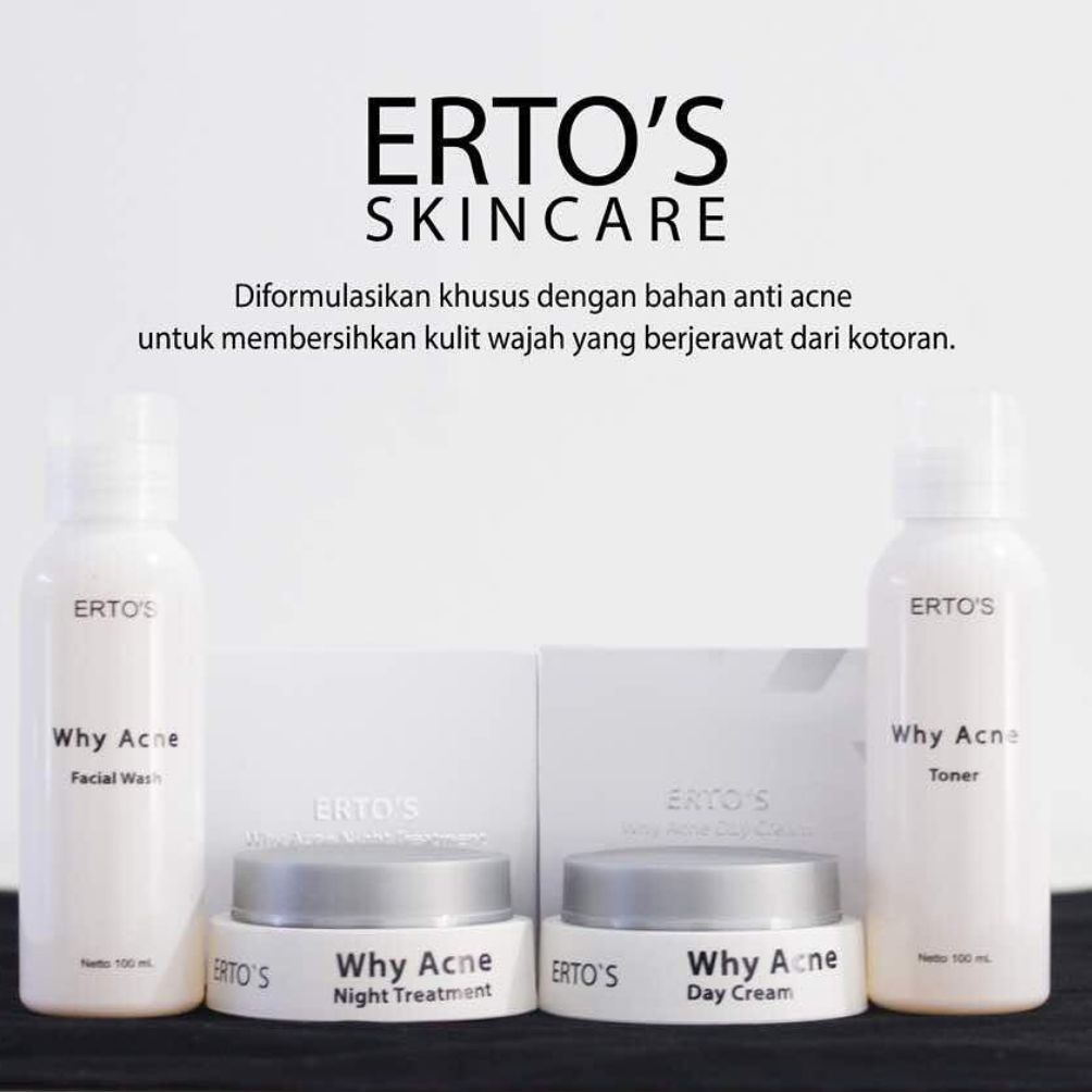 Harga Ertos Why Acne Series