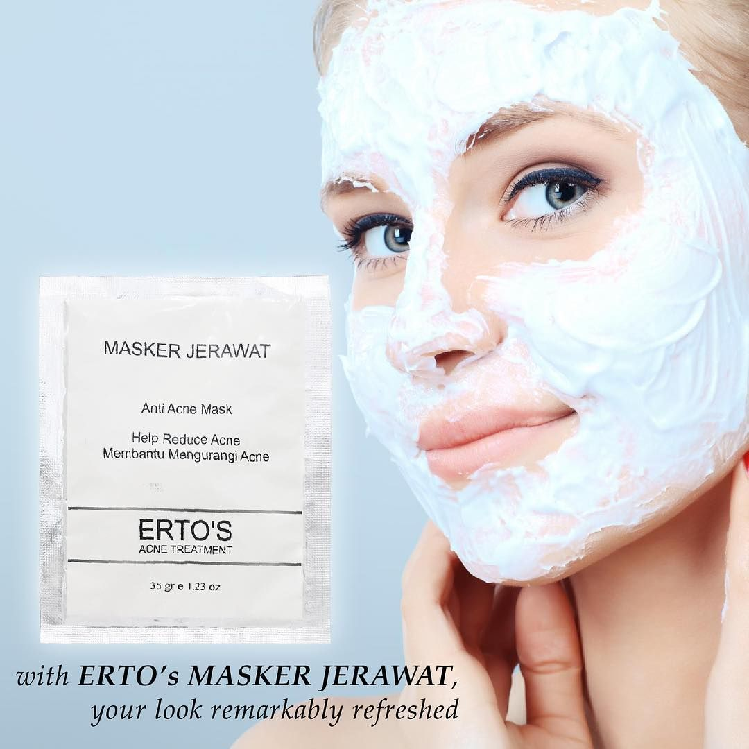 Harga Ertos Anti Acne Mask