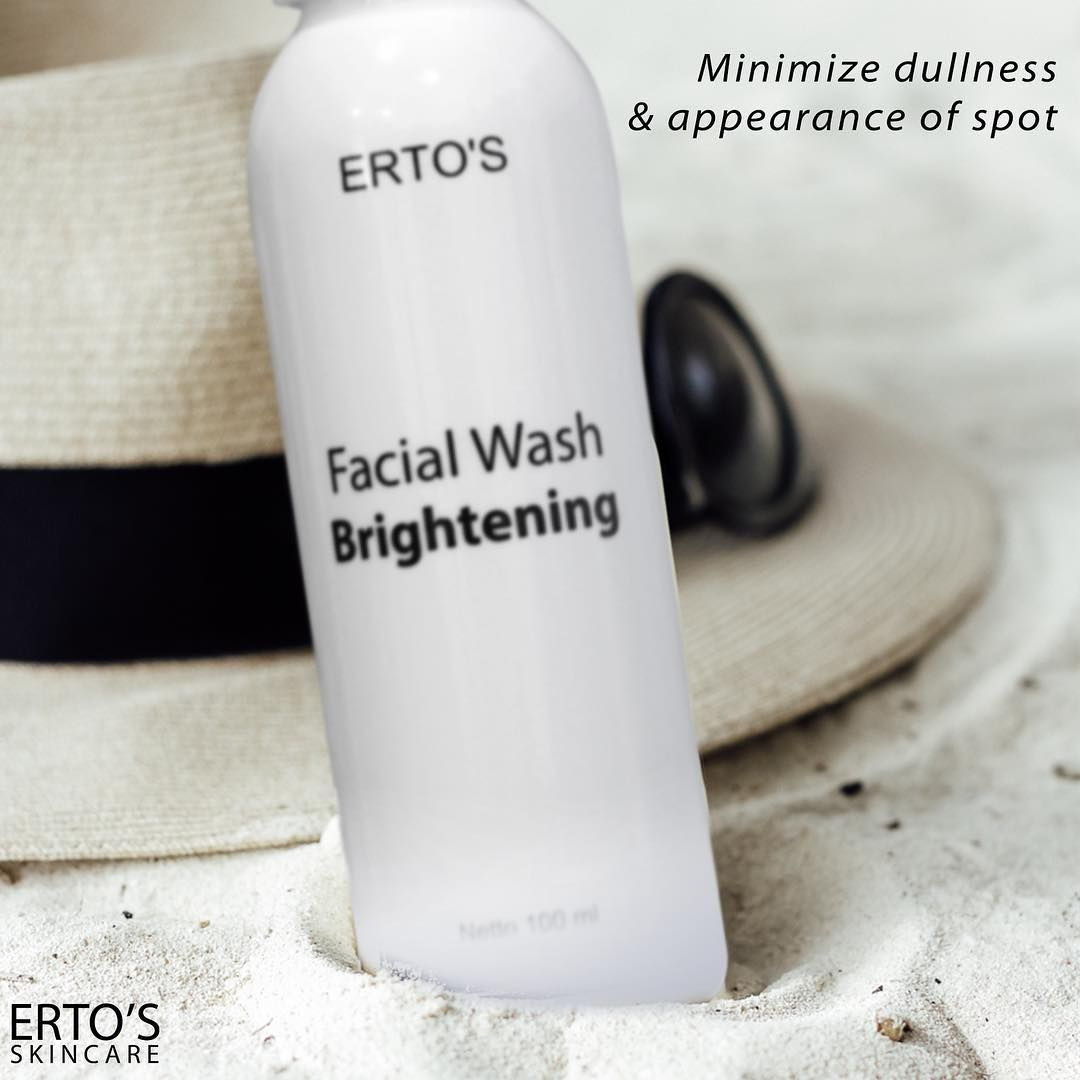 Harga Ertos Facial Wash Brightening