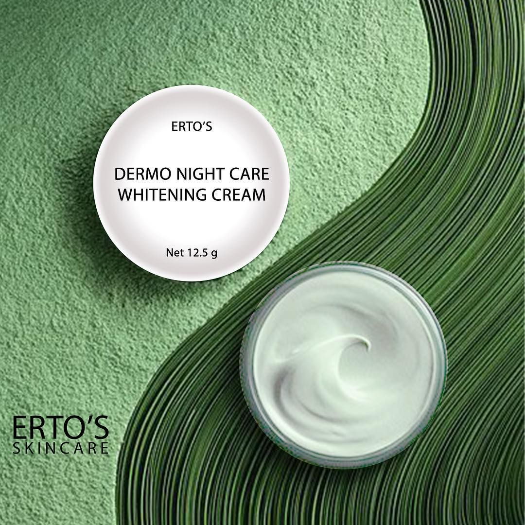 Harga Ertos Dermo Night Care Whitening Cream