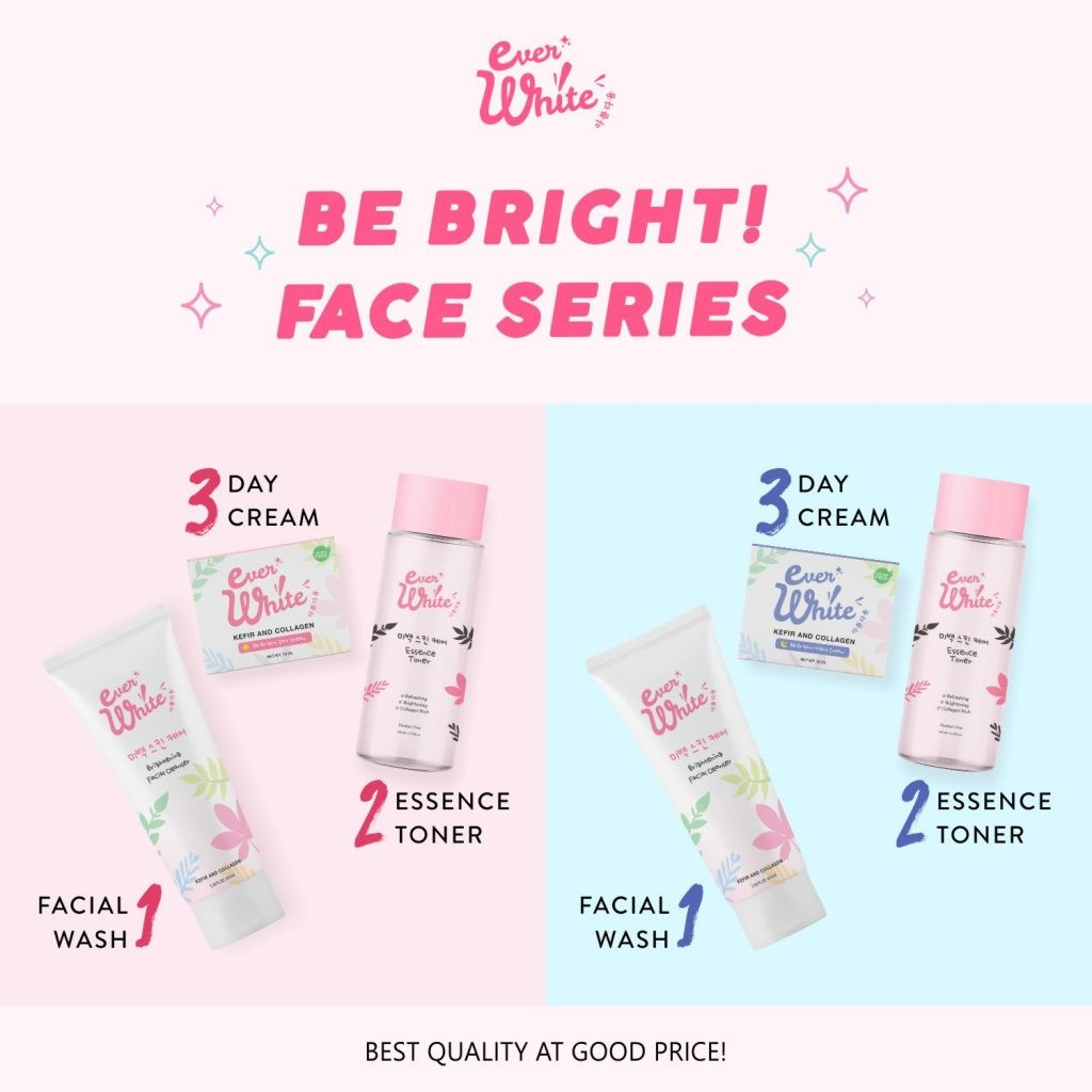 Everwhite Be Bright! Face Series