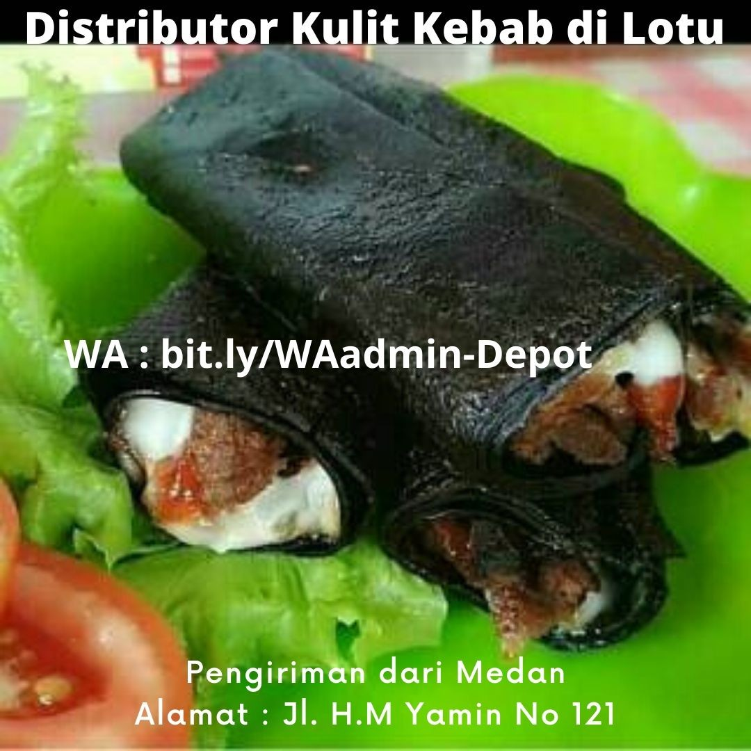 Distributor Kulit Kebab di Lotu Shipping from Medan