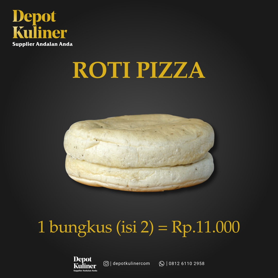 Supplier Roti Pizza Instan di Medan