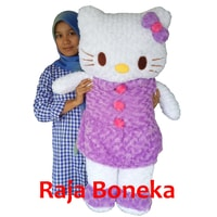 boneka hello kitty ungu