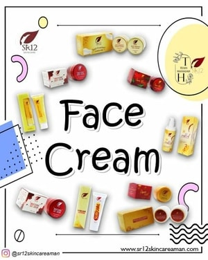 Produk Face Cream SR12