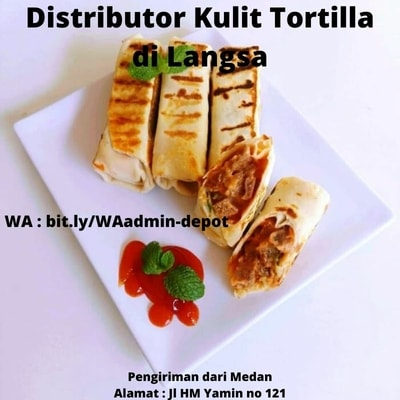 Distributor Kulit Tortilla di Langsa Shipping from Medan