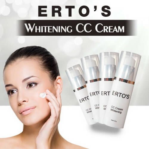 Harga Ertos CC Cream Whitening