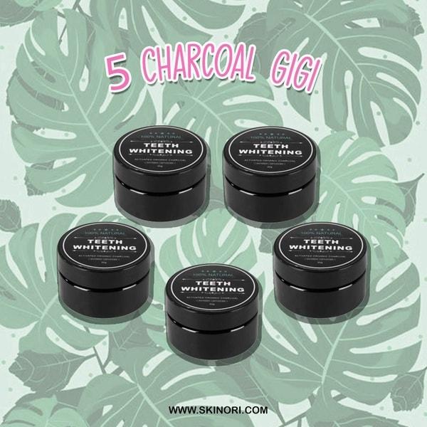Promo beli 3 gratis 2 Pemutih Gigi Charcoal c8547c6d11