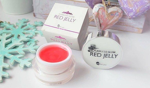 ms glow red jelly glowing www.ms-glow.store