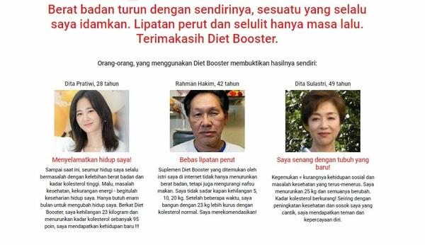 Jual Pelangsing Perut Obat Diet Booster Weight Loss Asli
