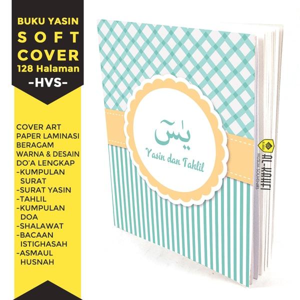 Buku Yasin Dan Tahlil Soft Cover 128 Halaman Hvs