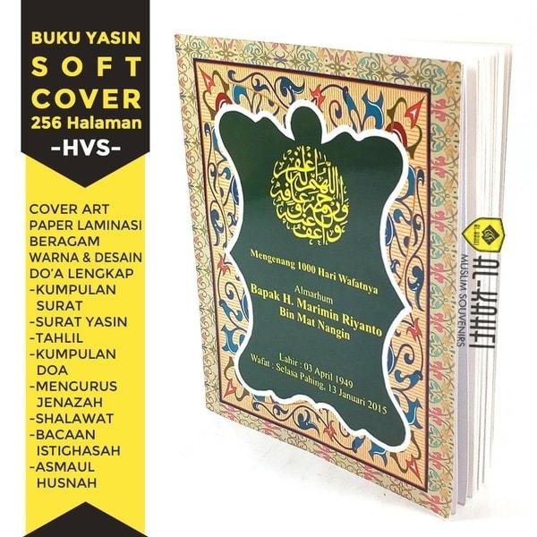 Buku Yasin Dan Tahlil Soft Cover 256 Halaman Hvs