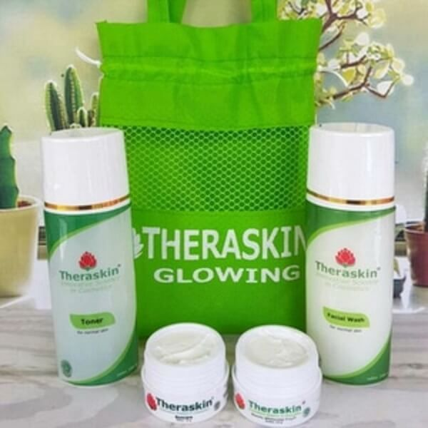 Theraskin Double Glowing: Wajah Glowing Lebih Cepat