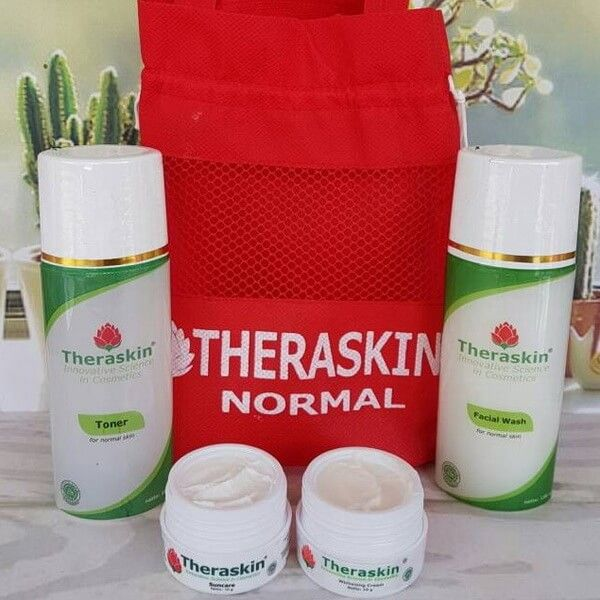Manfaat Cream Theraskin Paket Normal
