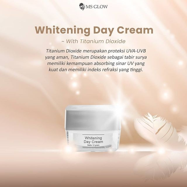 whitening day cream ms glow
