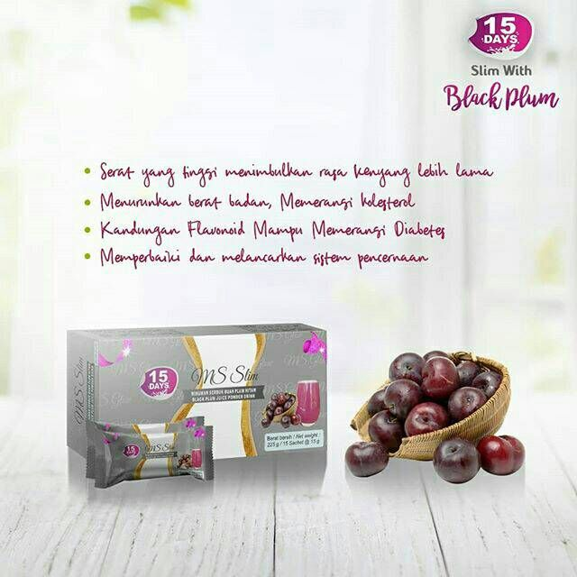 Manfaat Ms Slim Black Plum