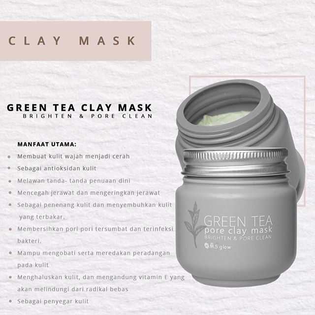 MS Glow Green Tea Clay Mask