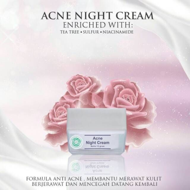 Gamar Acne Night Cream MS Glow