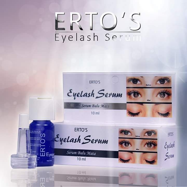 Harga Ertos Eyelash Serum