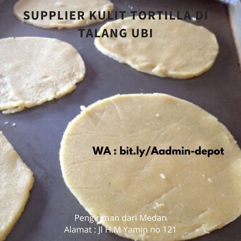 Supplier Kulit Tortilla di Talang Ubi
