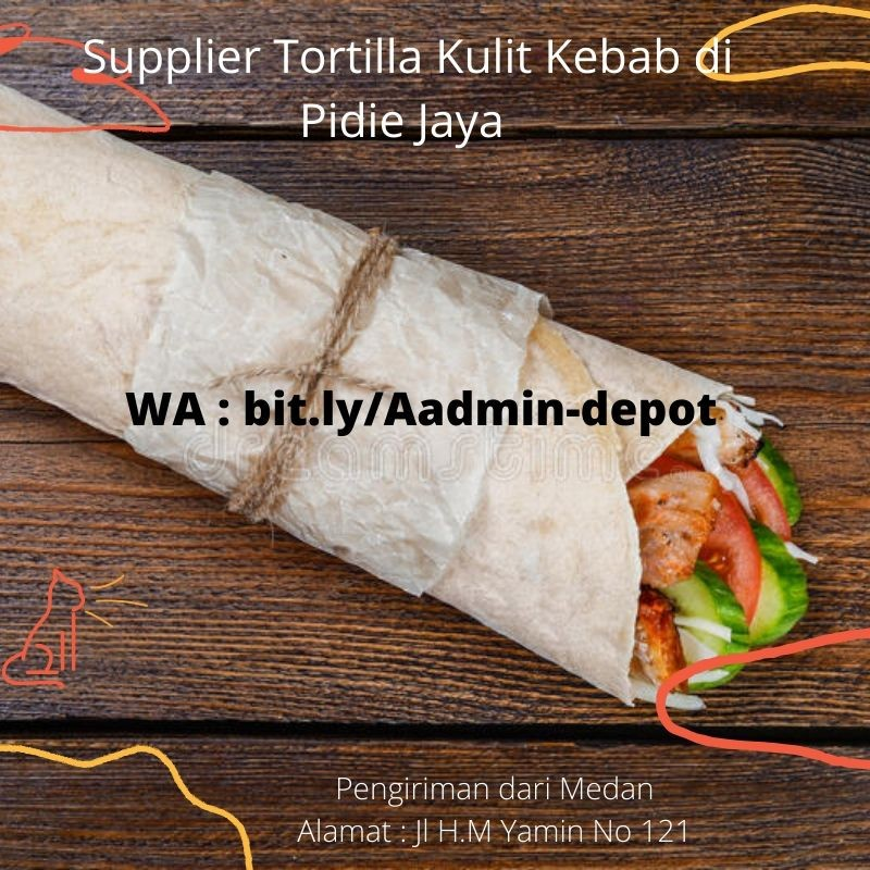 Supplier Tortilla Kulit Kebab di Pidie Jaya