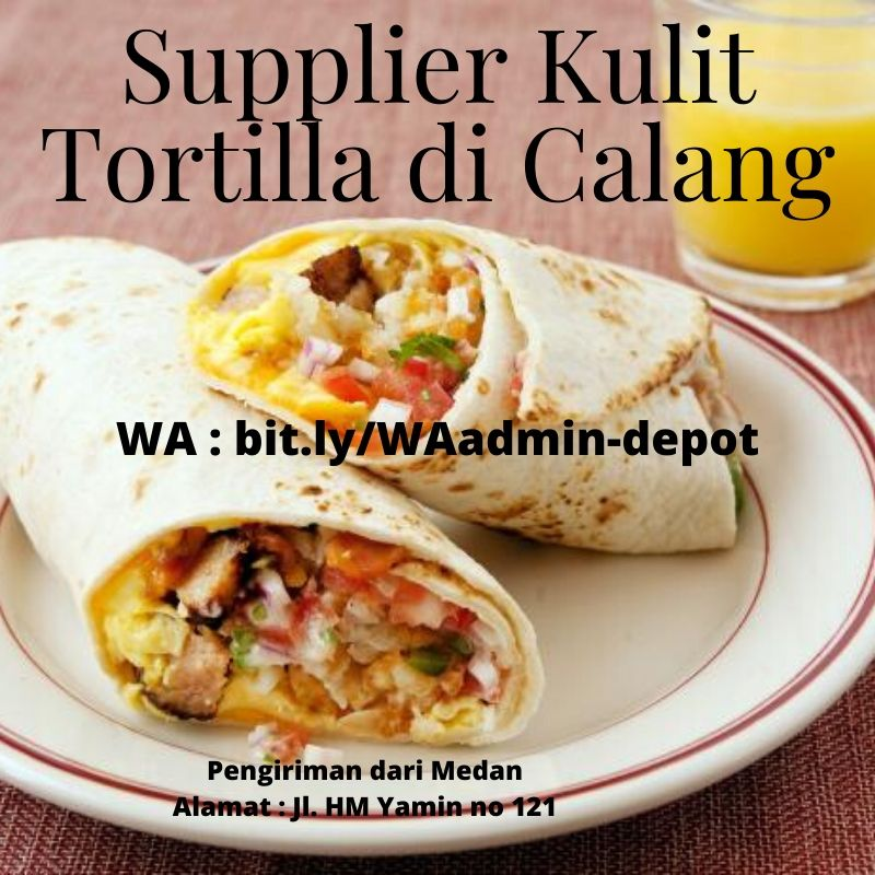 Supplier Kulit Tortilla di Calang