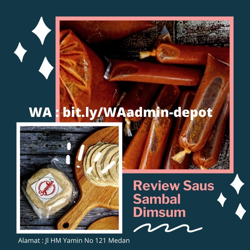 Review Saus Sambal Dimsum