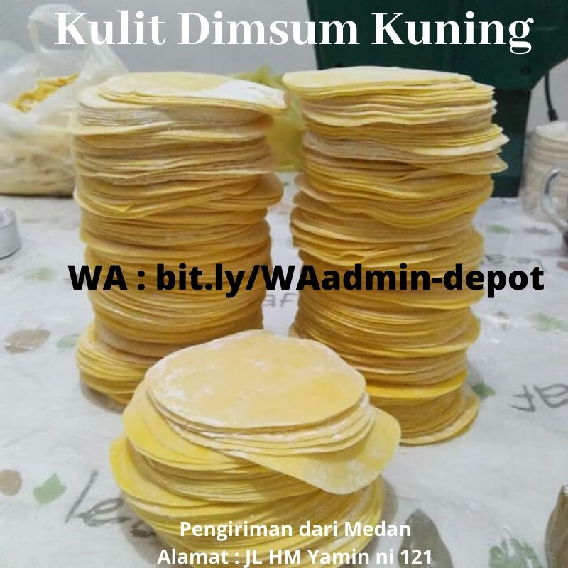 Supplier Kulit Dimsum Kuning