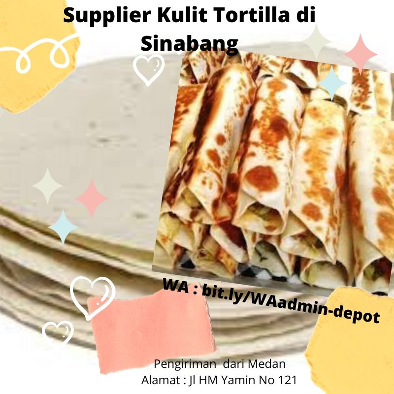 Supplier Kulit Tortilla di Sinabang Shipping from Medan